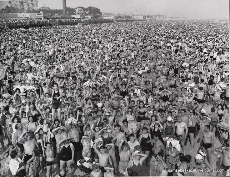 Кони-Айленд, 1940 год.