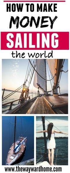 Want to sail the world? Find out how to make an income while also cruising full-time. #sailing #sailor #cruising #sailboat #makemoneyonline