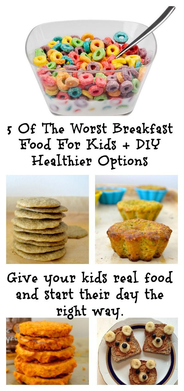 The 5 Worst Processed Breakfast Foods For Kids The Baby Food Guide