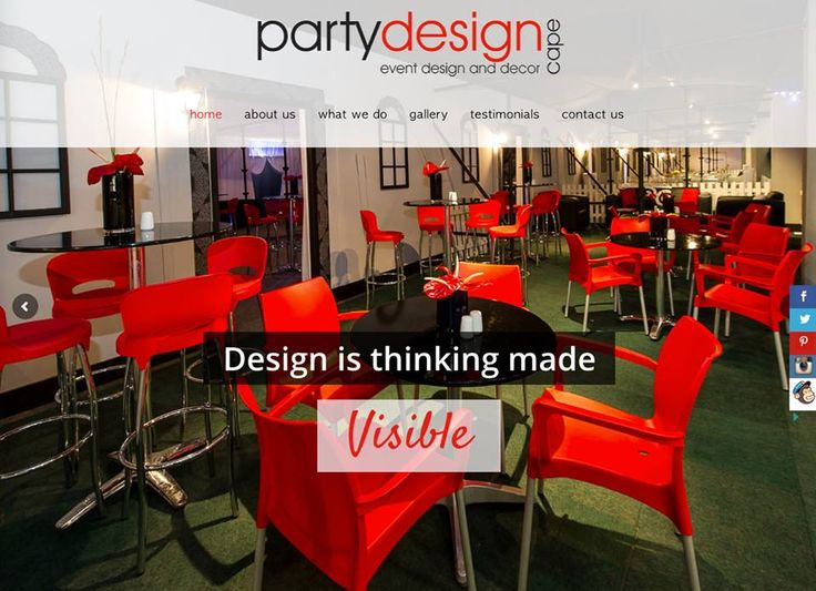 We're excited to announce that our new website is LIVE!  Check it out!  #eventdesign #eventdecor #capetown #eventmanagement