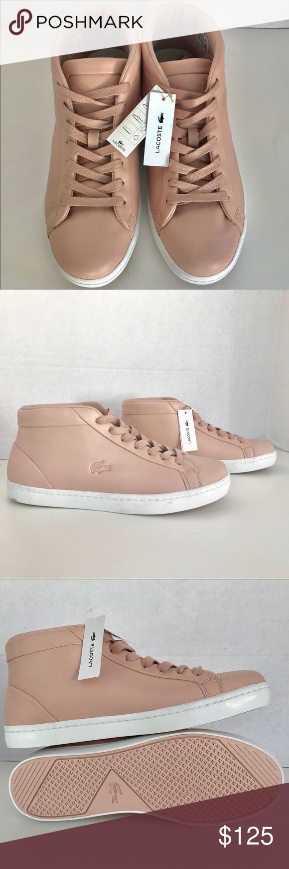 🆕Lacoste Straightset Chukka Leather Sneakers Sz10 Lace up Please see pictures for more details. If you have any questions, please feel free to ask me. Thank you for looking Please check my other items for sale Lacoste Shoes Sneakers