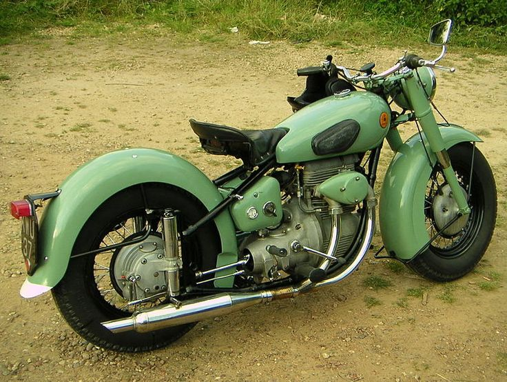 The Sunbeam S7 and S8 are British motorcycles designed by ...