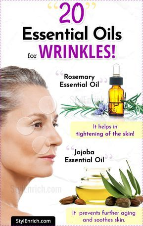 Essential Oils For Wrinkles and Younger Looking Skin – Uses and Benefits!