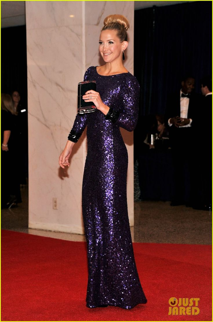 Kate Hudson in a stunning dress at the White House Correspondents Dinner 2012