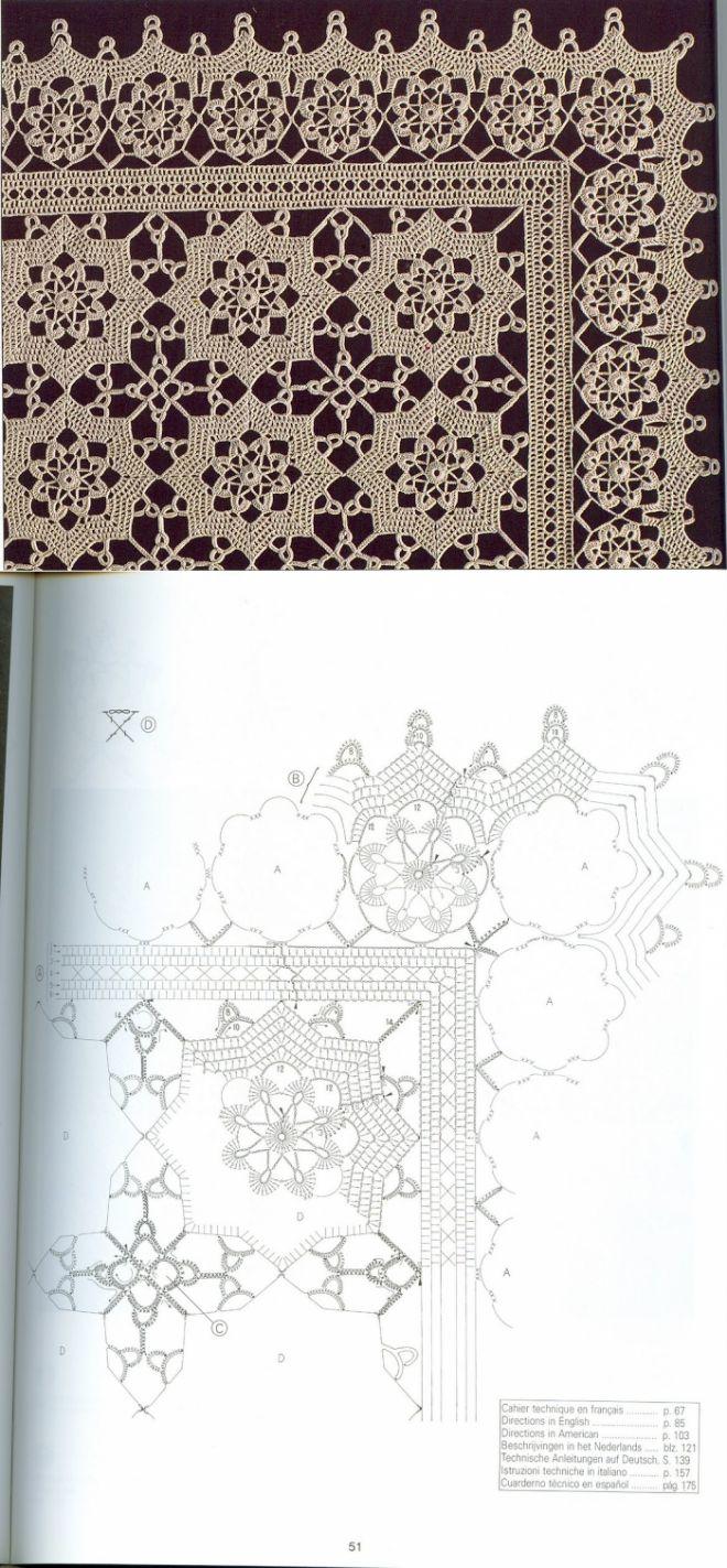 Crochet pattern/Motif...♥ Deniz ♥