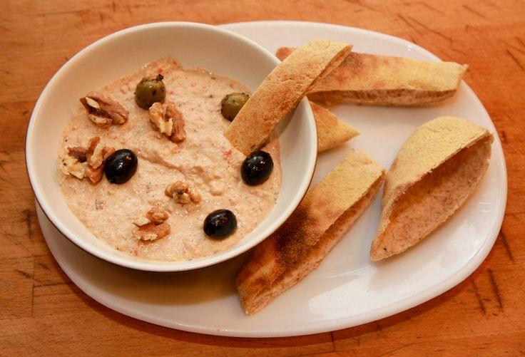 Baba ghanoush recipe. Greek recipes from Cookipedia .Co.UK Baba Ghanoush or Baba-Ganouj, babaganus, patlican salatasi (Turkish), melitzanosalata (Greek), mutabal (Armenian), salata de vinete (Romanian), Baigan Bharta (Hindi) ,Vangyache Bharit (Marathi), padlizsankrem (Hungarian) is a kind of popular Middle Eastern dish made primarily of aubergine (eggplant) , mashed, and mixed with various seasonings.