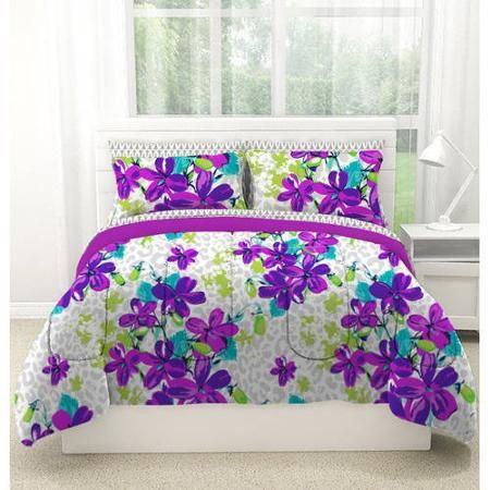 Latitude Natalia Cheetah Bed in a Bag Bedding Set - Walmart.com - $69.99
