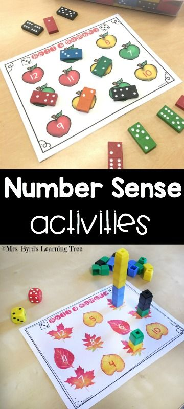 Roll and build, roll and cover, dominoes and write number sentences too! Fun math practice all year long! $
