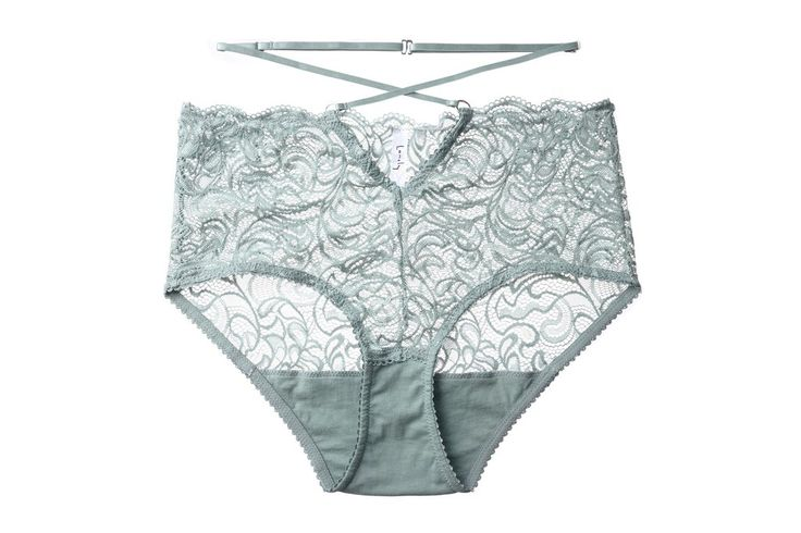 Penny Mid Waist Brief Mist - Lonely - Free Overnight Shipping NZ