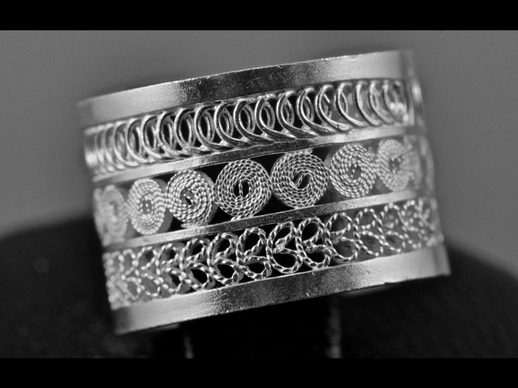 """Arboleda"" ring by Olmox Jewelry, geometric beauty, handmade, sterling silver 9.70 filigree www.olmox.com"