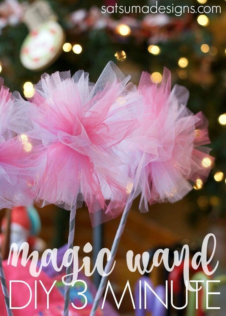 diy 3 minute magic wand