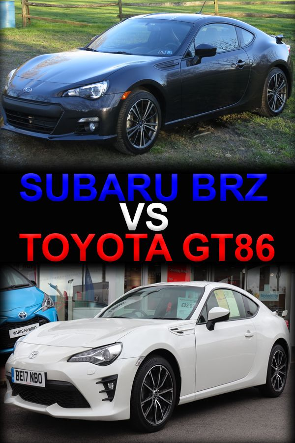Subaru Brz Vs Toyota 86 >> Here You Will Find The Differences Between These Similar
