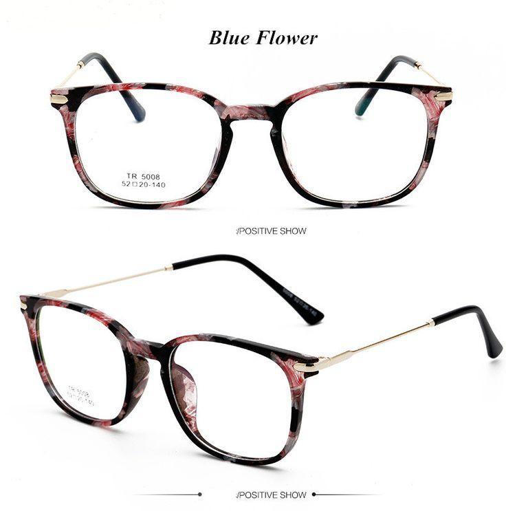TR90 Ultralight Female Grade Computer Glasses Frame Round Eyeglasses Frames for Women Men Retro Prescription Optical Eyewear Who like it ? Visit us
