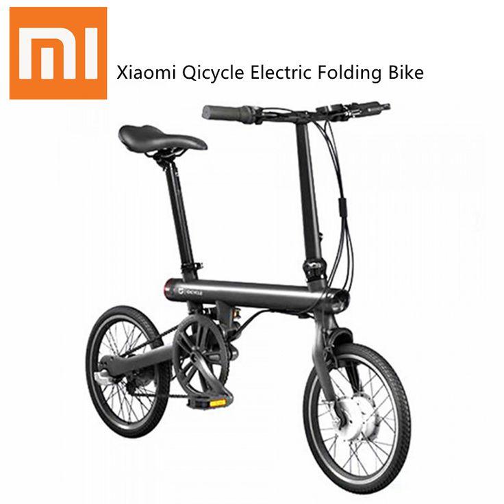 Xiaomi qicycle электрический велосипед белый черный купить на AliExpress