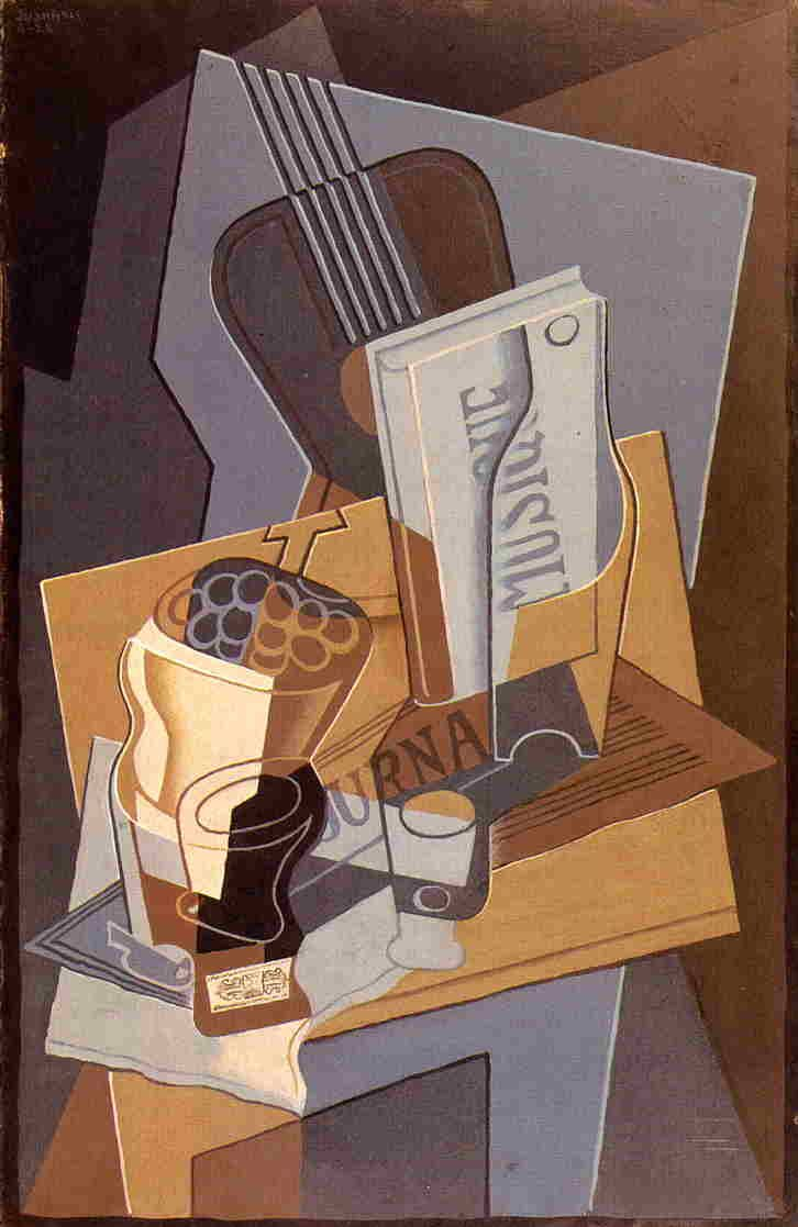 The Book of Music, 1922 by Juan Gris