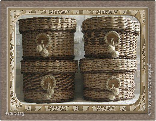 Поделка изделие Плетение Здравствуйте Бумага газетная Трубочки бумажные фото 2