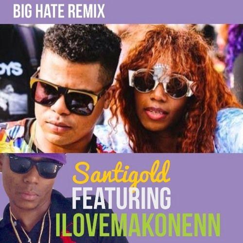 Santigold featuring Ilovemakonenn - Who Be Loving Me (BIG HATE #REMIX52) by BIG HATE on SoundCloud