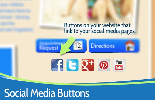 Add your social button and link to your business blog to grow your brand awareness and generate fresh content on your site. tinyurl.com/mf8jmtj