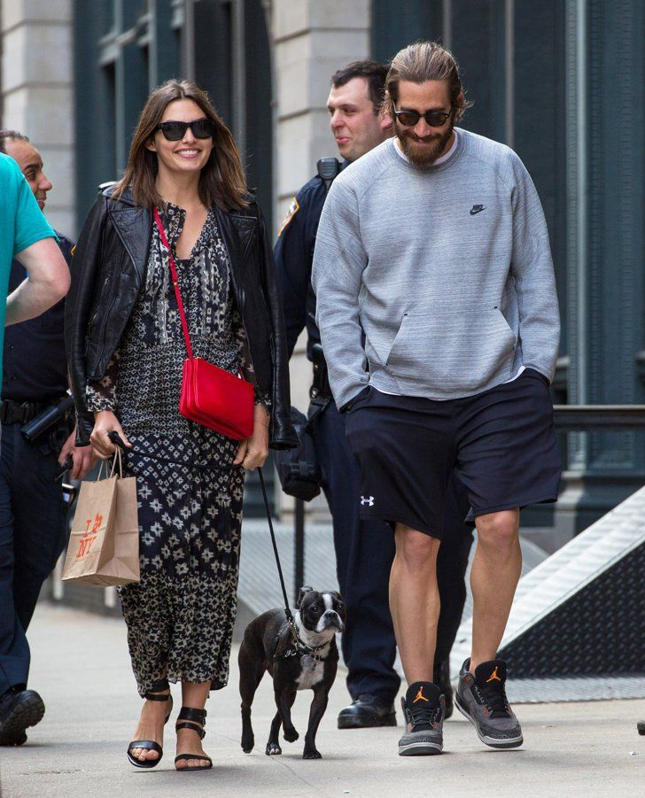 Pin for Later: Dear Alyssa Miller, Thank You For Getting Jake Gyllenhaal to Smile