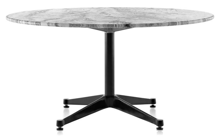 Eames Contract Base Round Outdoor Table by Herman Miller. Because your outdoor spaces deserve the same quality of furniture as your interiors, Herman Miller is offering the Eames Tables Outdoor.