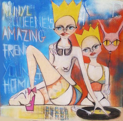 Vinyl Queenie's amazing friends