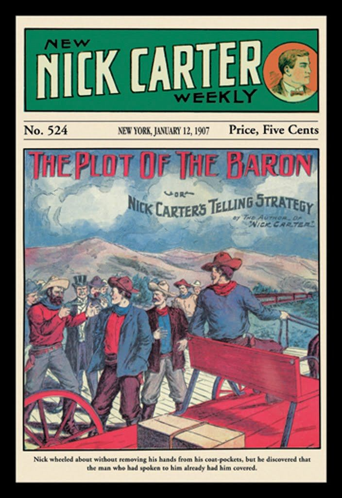 The Plot of the Baron - Nick Carter 1907