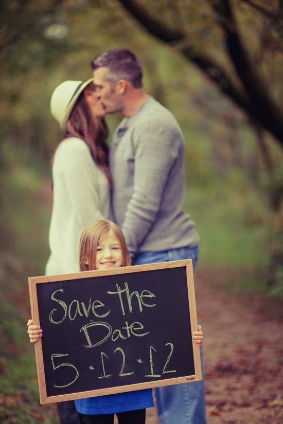 Weddings: Save the Date Ideas Too cute, don't think little one would cooperate with this though!!!