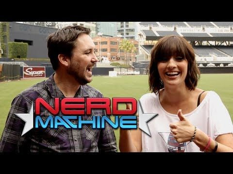 Will Wheaton - Exclusive Interview - Nerd HQ (2013) HD - Alison Haislip - YouTube