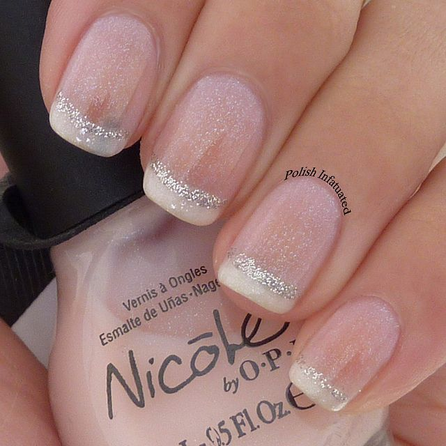 Polished French Manicure Design For more fashion inspiration visit www.finditforweddings.com Nails