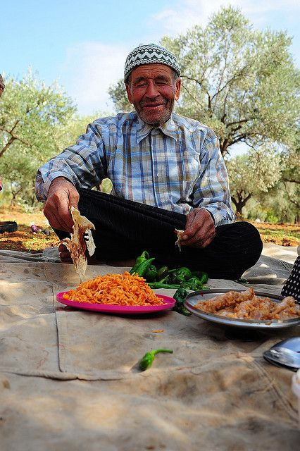 Lunch in the olives grove - Antalya, Turkey
