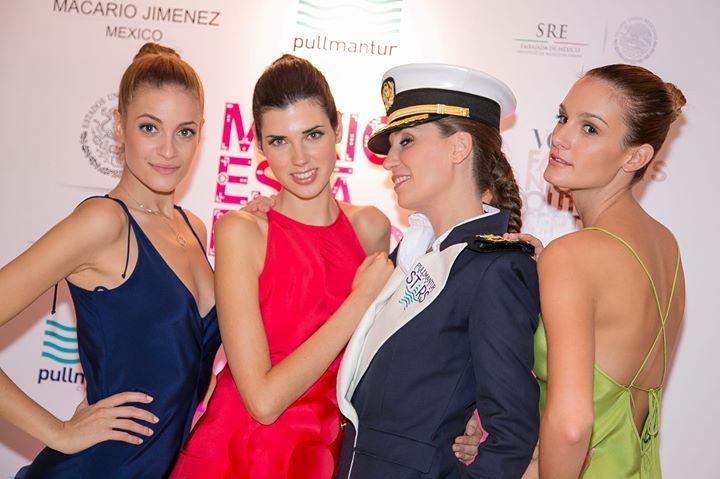 #20añosMJ #pullmanturinspira #mexicoestademoda — con Alba Garcia y Eiram Meira.
