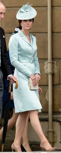 16 May 2017 - Duchess of Cambridge attends Buckingham Palace Garden Party