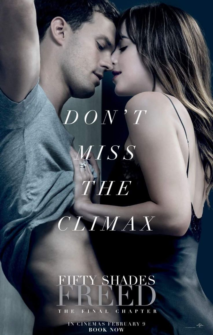 New poster for fifty shades freed