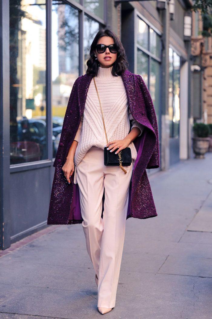 ZARA_Light_wool_straight_trousers and turtleneck sweater bmodish