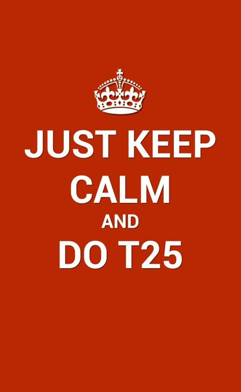 Focus t25. Starting it again after quitting for two months! I want to end 2013 strong. @Nicole Novembrino Jakub