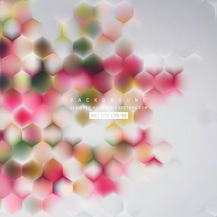 Hexagon Background Template  - https://www.123freevectors.com/hexagon-background-template-60553/