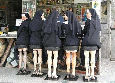 Recycled mannequin Leg Stools - you would invite my old teachers back every week to enjoy this fully.