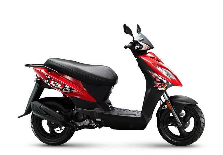 Kymco DJ 50 S Scooter - 50cc Moped | Kymco UK