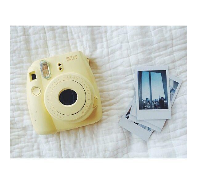 Polaroid, Polaroid cameras and Yellow on Pinterest