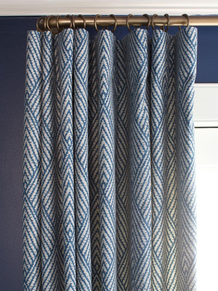 Modern Window Treatment Ideas Navy Curtains BedroomDining Room