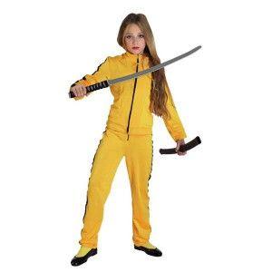 Kill Bill στολή για κορίτσια που αγαπάνε τη δράση και τις πολεμικές τέχνες