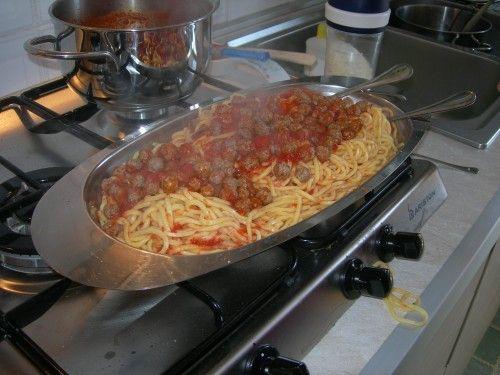 Spaghetti alla chitarra con le pallottine - #Food Abruzzo