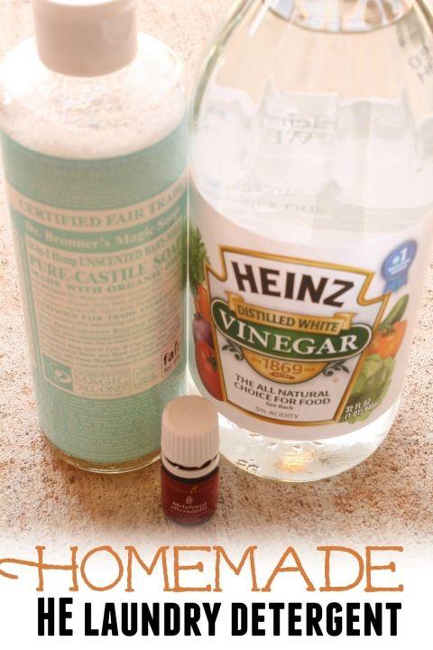 5 Essential Oils + 5 Natural Ingredients = 10 DIY Household Cleaners