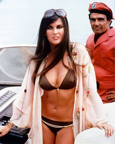 This image is from The Spy Who Loved Me featuring Caroline Munro as Naomi