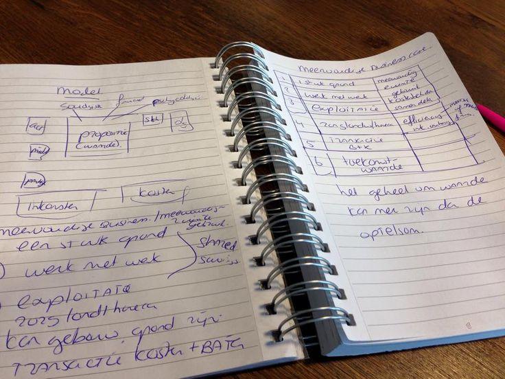 Interessant en leuk om te doen: brainstorm hoe je voor gebied een meervoudige business case kan creëeren op basis van de waardepropositie :-))  Hoe zorg je dat t geheel meer wordt dan alleen de optelsom!  De Rode Draad organisatie | marketing | communicatie  www.derodedraad.nu