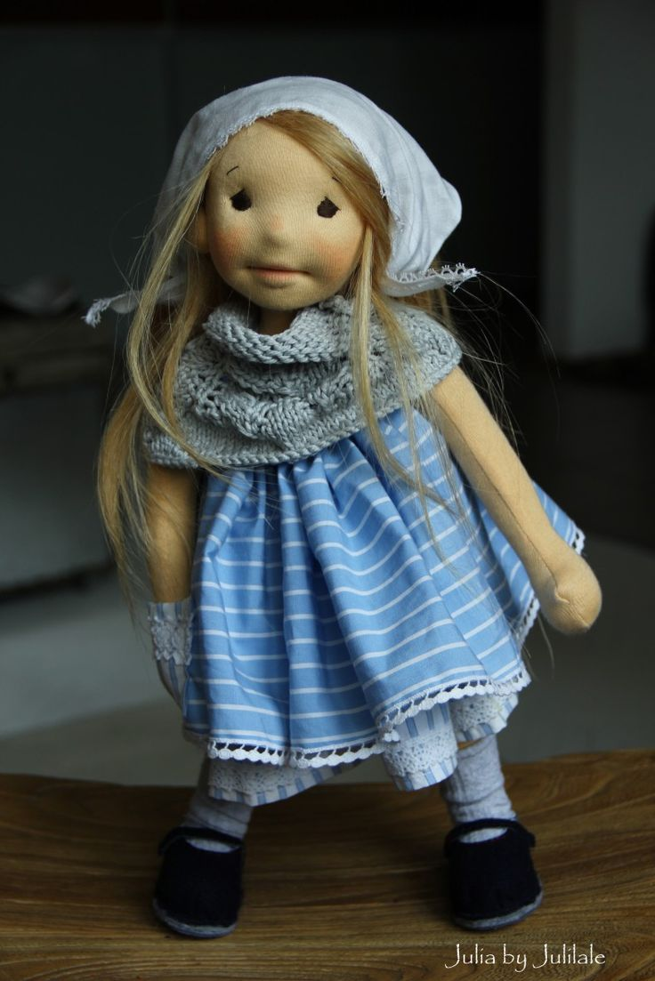 Julia - waldorf inspired doll by julilale