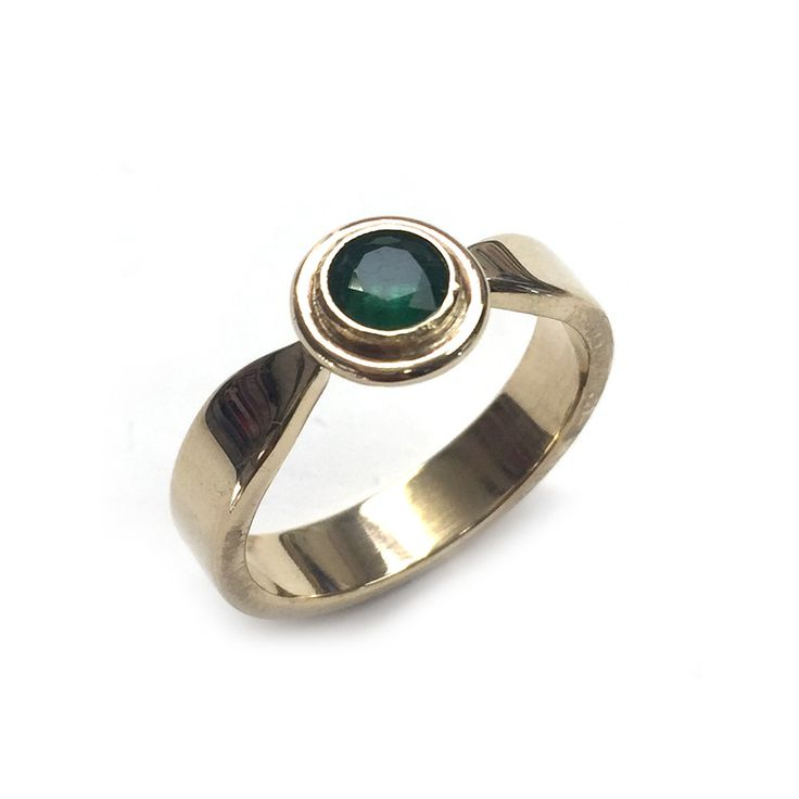 A one-off solid 9 carat yellow gold ring with a moss green Emerald (5mm) Band width 4mm. SIZE P ONLY! LAST CHANCE SALOON NOTES * Items are non returnable, unless deemed faulty by BMM * Rings are only available in … Continue reading →