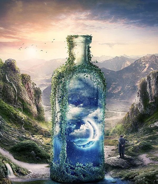 Best Photo Manipulation Surreal Ideas Images On Pinterest - Photographer uses photoshop to create surreal dreamy composite images