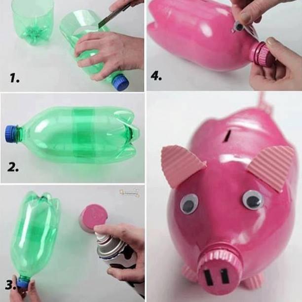Recyclebank Soda bottle piggy bank