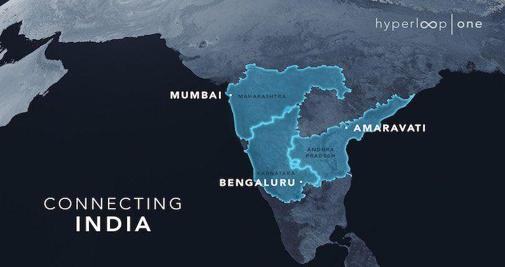 Tres estados de la India -Maharashtra, Karnataka y Andhra Pradesh- se unen para dar un paso importante en el transporte urbano del país gracias a Hyperloop